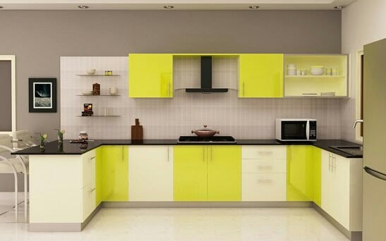 Beautiful modular kitchen design by Sri Velu Services Modular-kitchen | Interior Design Photos & Ideas