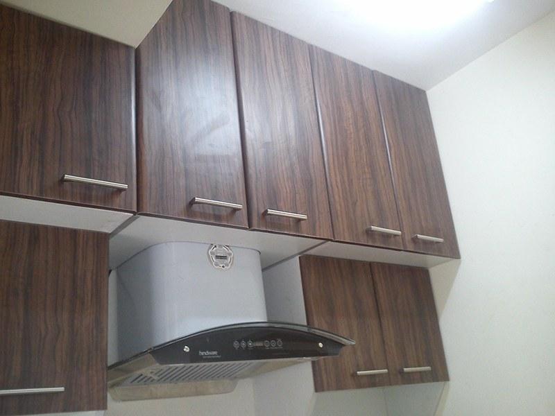 Idea for kitchen cabinet space by Sri Velu Services Modular-kitchen | Interior Design Photos & Ideas
