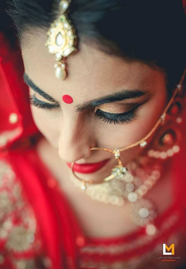Bold bronze eyes by Lakshya Manwani Wedding-photography Bridal-makeup Bridal-jewellery-and-accessories | Weddings Photos & Ideas