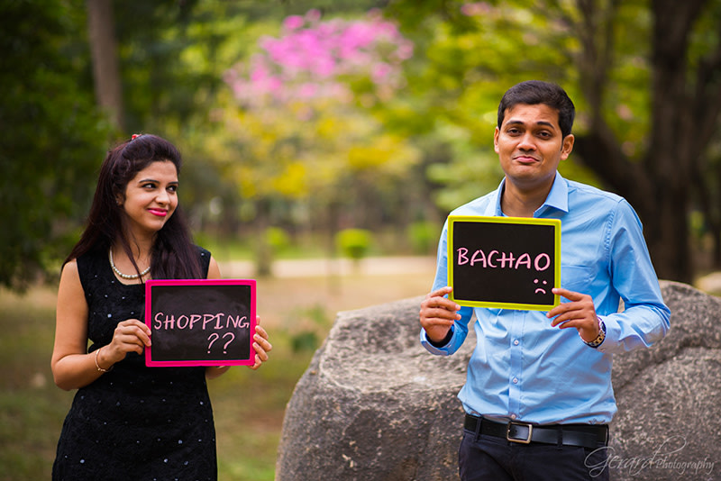 Quirky Pre Wedding Shoot Idea by Gerard Pandian Wedding-photography | Weddings Photos & Ideas