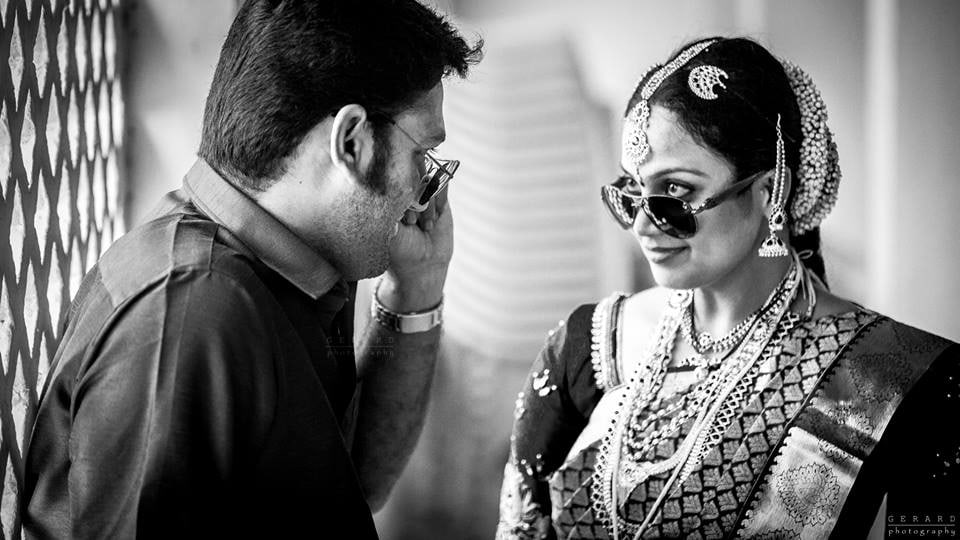 Voguish Swank Of Bride And Groom by Gerard Pandian Wedding-photography | Weddings Photos & Ideas