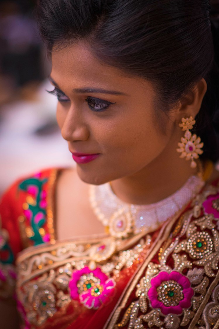 Tickled pink bride by Gerard Pandian Wedding-photography | Weddings Photos & Ideas