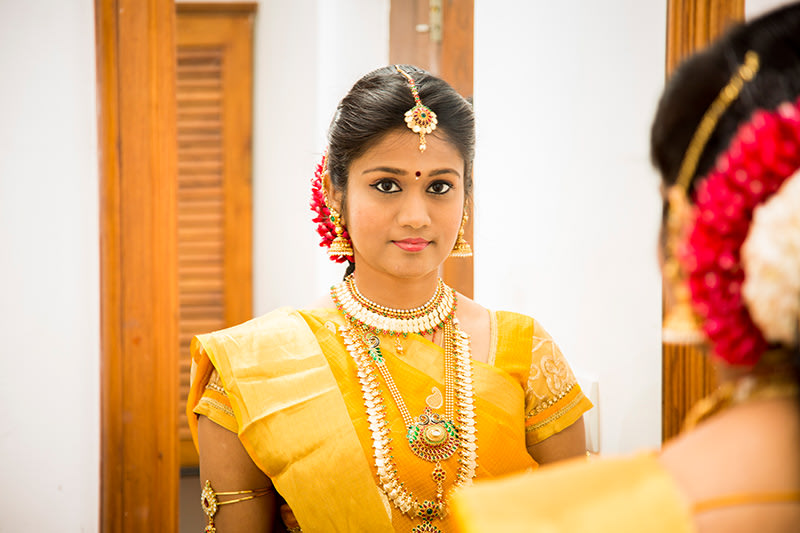 South Indian Bride Wearing Kasulaperu by Gerard Pandian Wedding-photography | Weddings Photos & Ideas