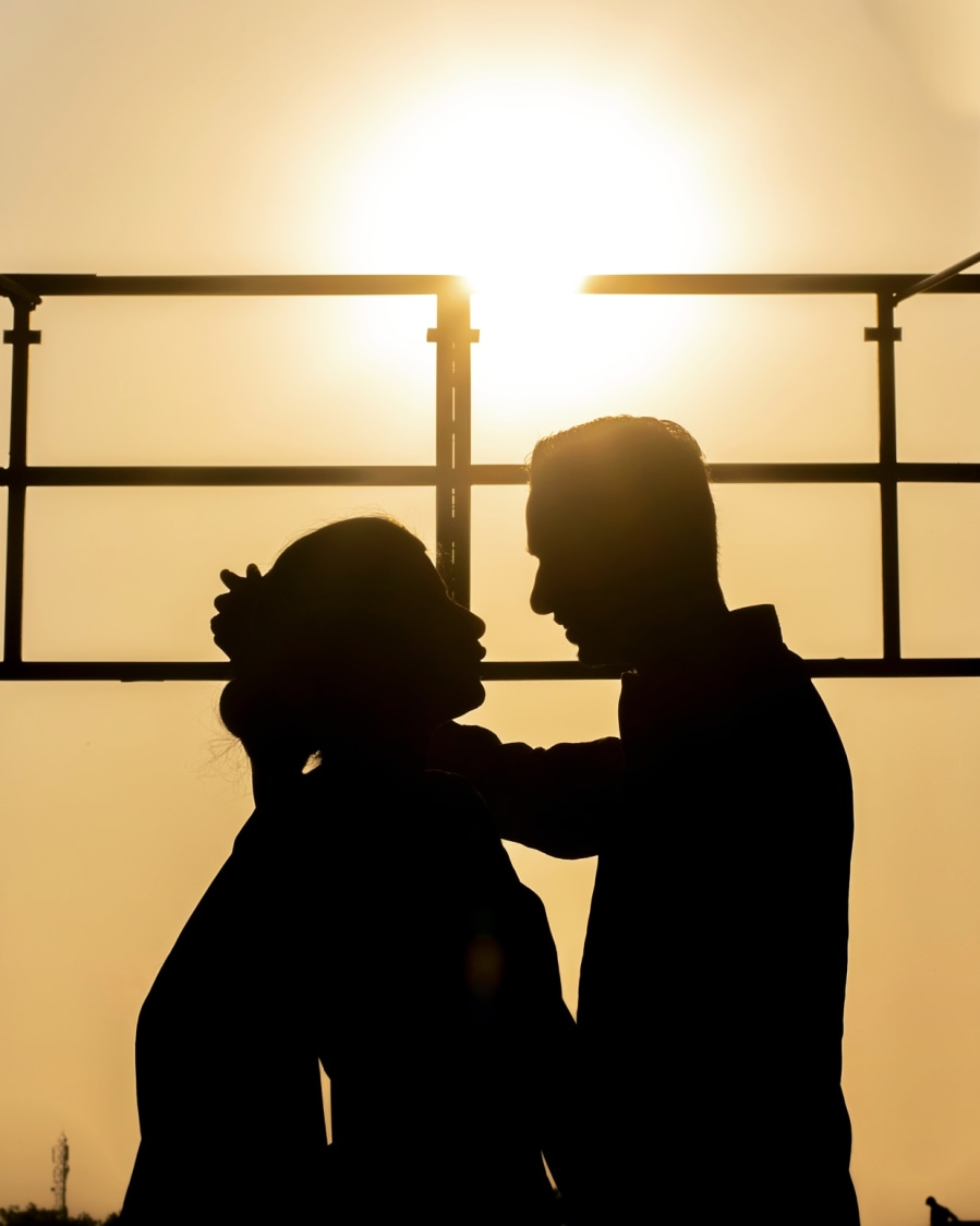 Silhouette of impassioned in love couple by Gerard Photography Wedding-photography | Weddings Photos & Ideas