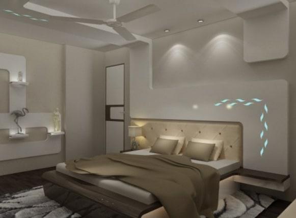 Modern master bedroom decor by SDG India Bedroom Modern | Interior Design Photos & Ideas