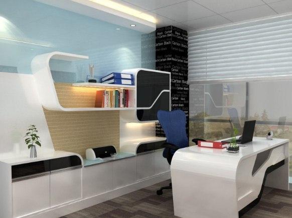 Modern cellular style office by SDG India Modern | Interior Design Photos & Ideas