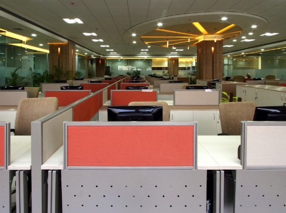 Modern cellular style office by SDG India Modern | Interior Design Photos & Ideas
