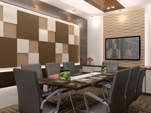 Modern conference room by SDG India Modern | Interior Design Photos & Ideas