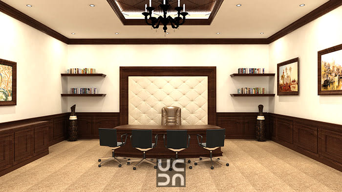 A spacious office space by Interior Elements | Interior Design Photos & Ideas