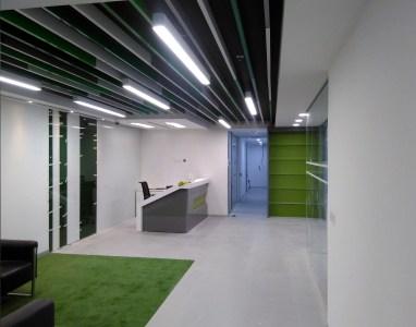 Modern office reception by Ar. ankur siddhu Modern | Interior Design Photos & Ideas