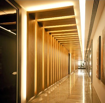 An Exquisite Hallway by Urban Elements Contemporary | Interior Design Photos & Ideas