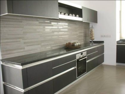 3D design for modern kitchen by Partha Ghosh Consultants