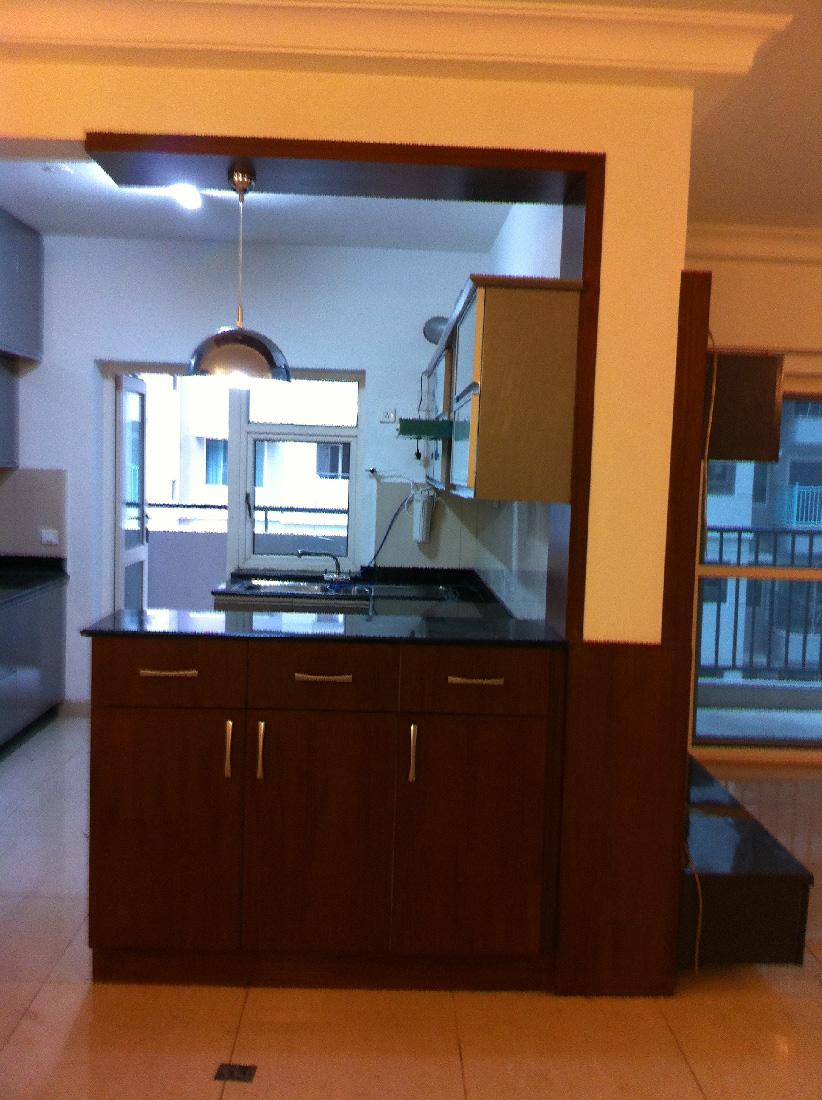 A modern modular kitchen by Root Art Interiors  Modular-kitchen   Interior Design Photos & Ideas