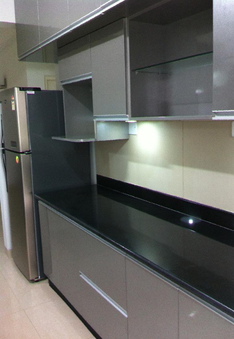 A modern modular kitchen by Root Art Interiors  Modular-kitchen | Interior Design Photos & Ideas