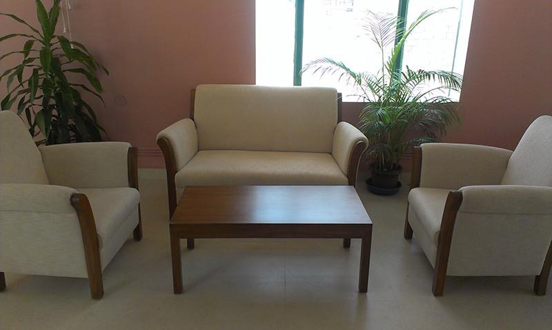 A decent looking sofa by Vinitaa Ranjan Living-room | Interior Design Photos & Ideas
