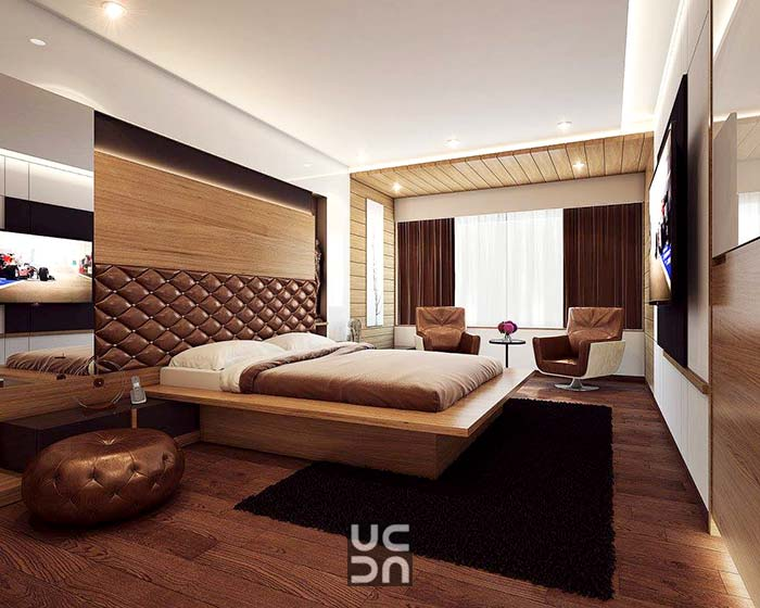 A massive bedroom with chairs by Accelerating Better Design Bedroom | Interior Design Photos & Ideas