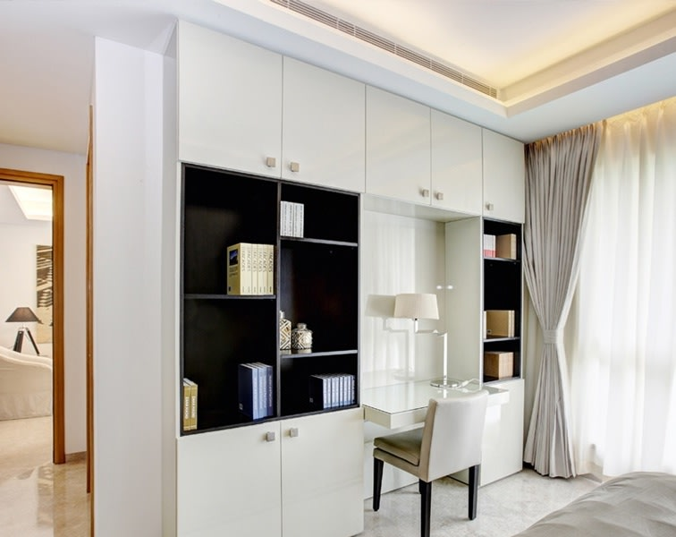 Royal ,elegant  multi cabinet cupboard by One leaf interiors& exteriors Living-room Contemporary | Interior Design Photos & Ideas