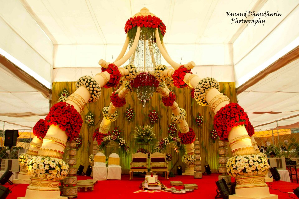 Floral decor of the venue! by Kumud Dhandharia Photography Wedding-photography | Weddings Photos & Ideas