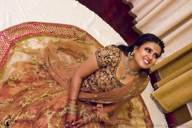 A stellar couple wearing beautiful lehenga! by C3 Photography Wedding-photography   Weddings Photos & Ideas
