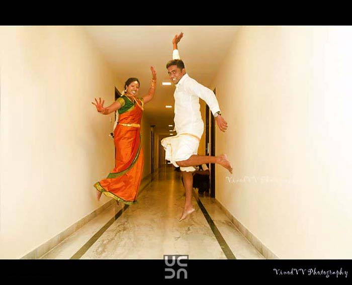 A super happy couple on their D-day! by Vinod VV Photography Wedding-photography | Weddings Photos & Ideas