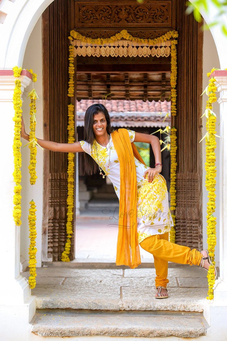 A quirky bride-to-be in yellow suit! by Vinod VV Photography Wedding-photography | Weddings Photos & Ideas