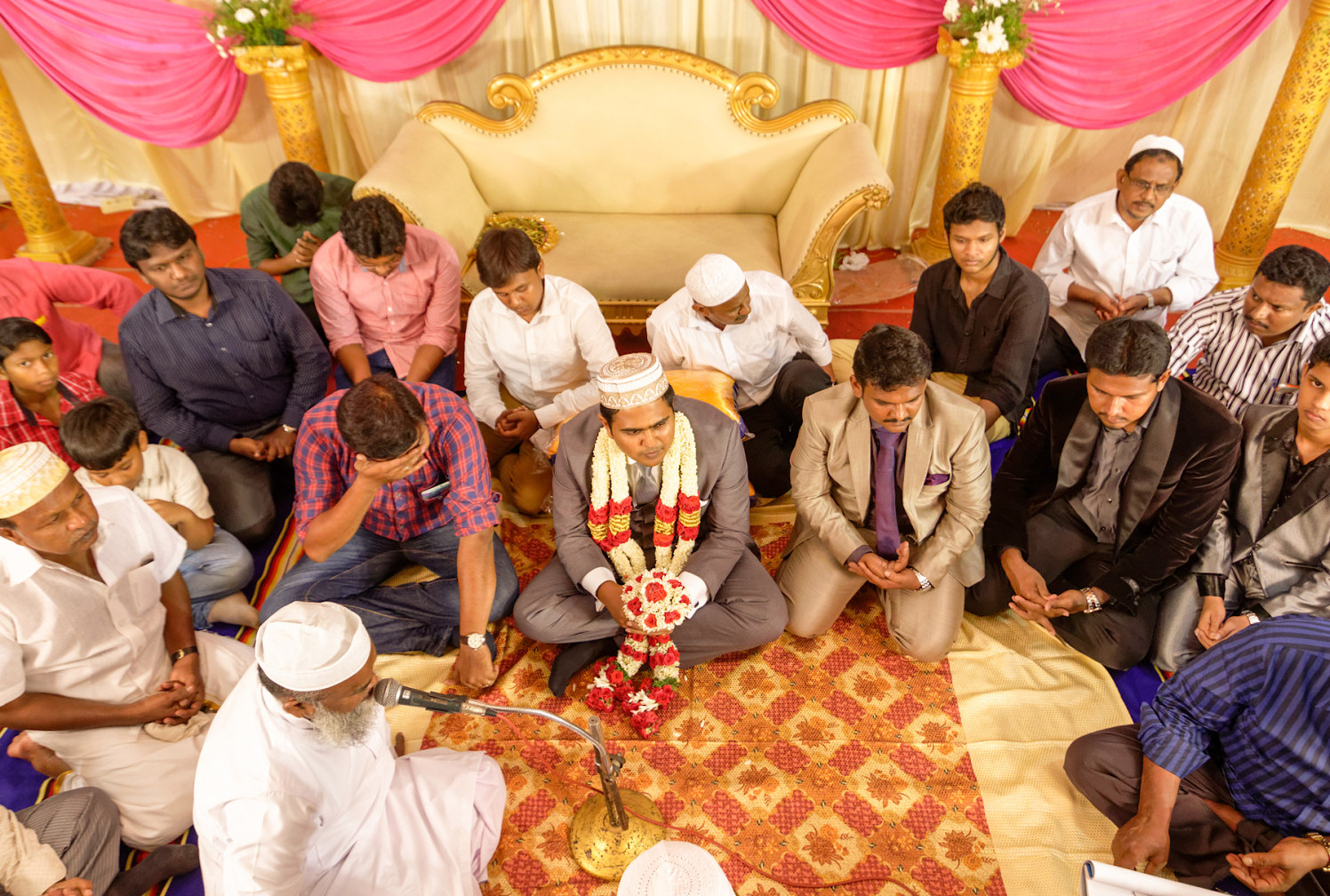 A muslim wedding taking place! by Vinod VV Photography Wedding-photography | Weddings Photos & Ideas