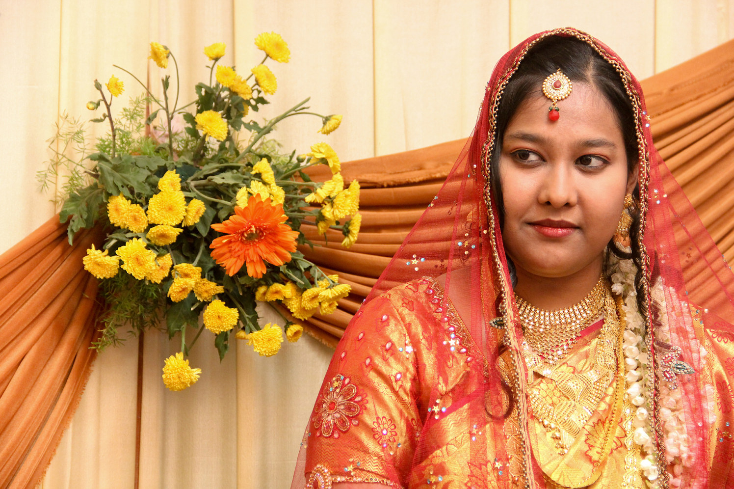 A simple bride on her D-day! by Vinod VV Photography Wedding-photography   Weddings Photos & Ideas