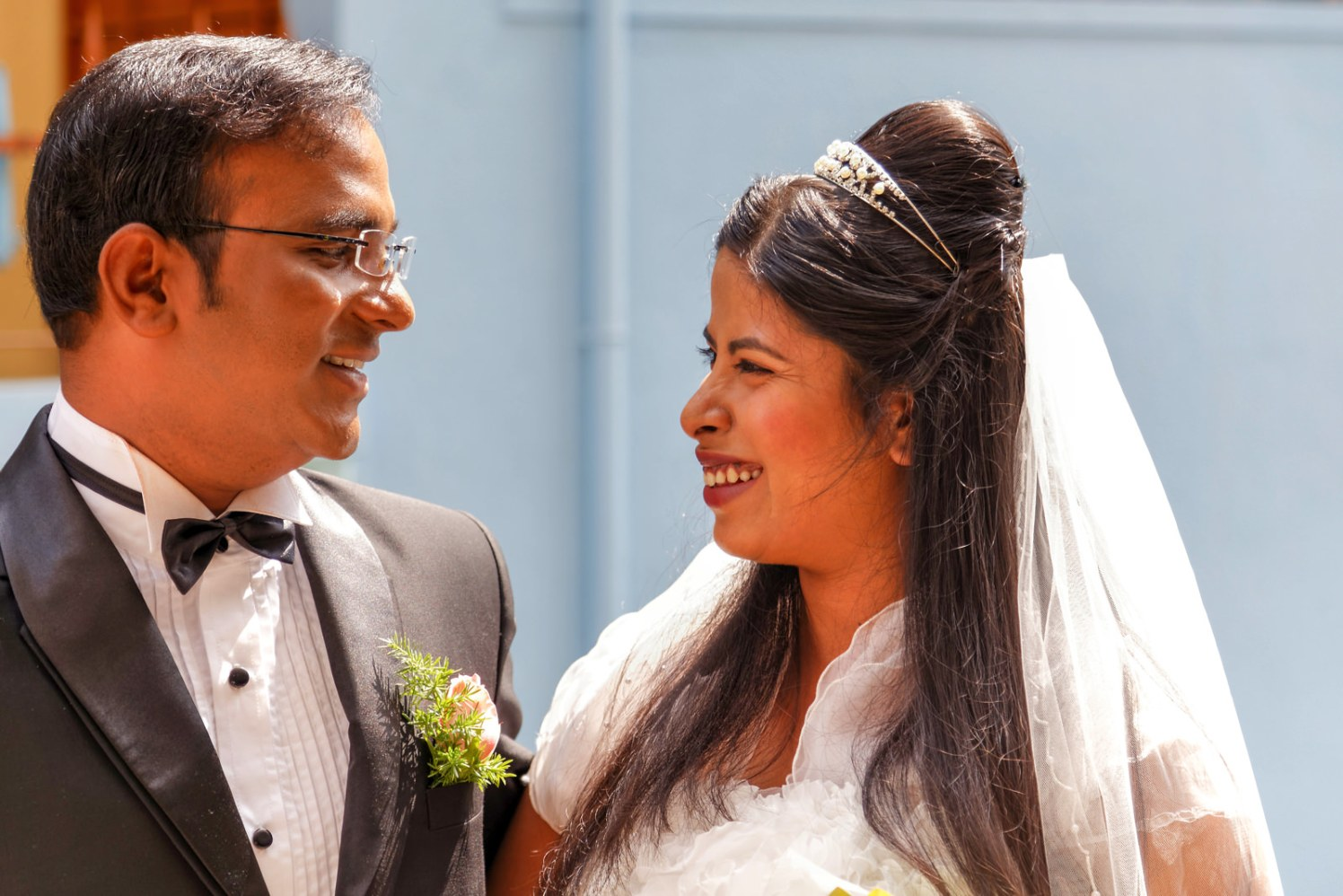 A whimsical christian couple! by Vinod VV Photography Wedding-photography   Weddings Photos & Ideas
