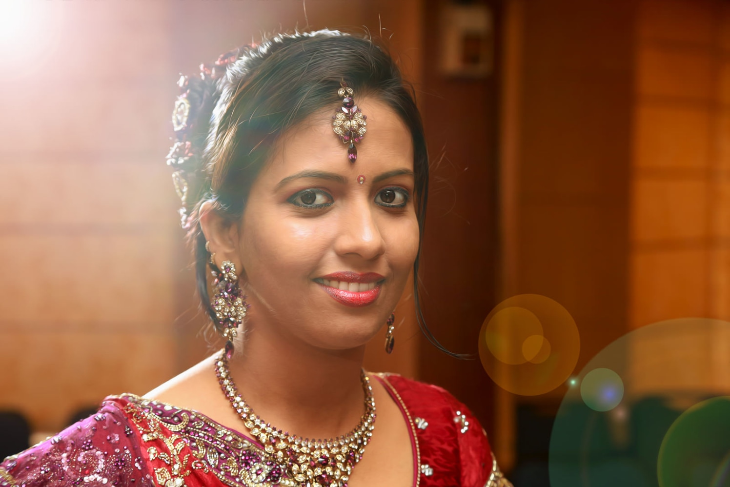 A glowing bride ready to step in her new life! by Vinod VV Photography Wedding-photography | Weddings Photos & Ideas