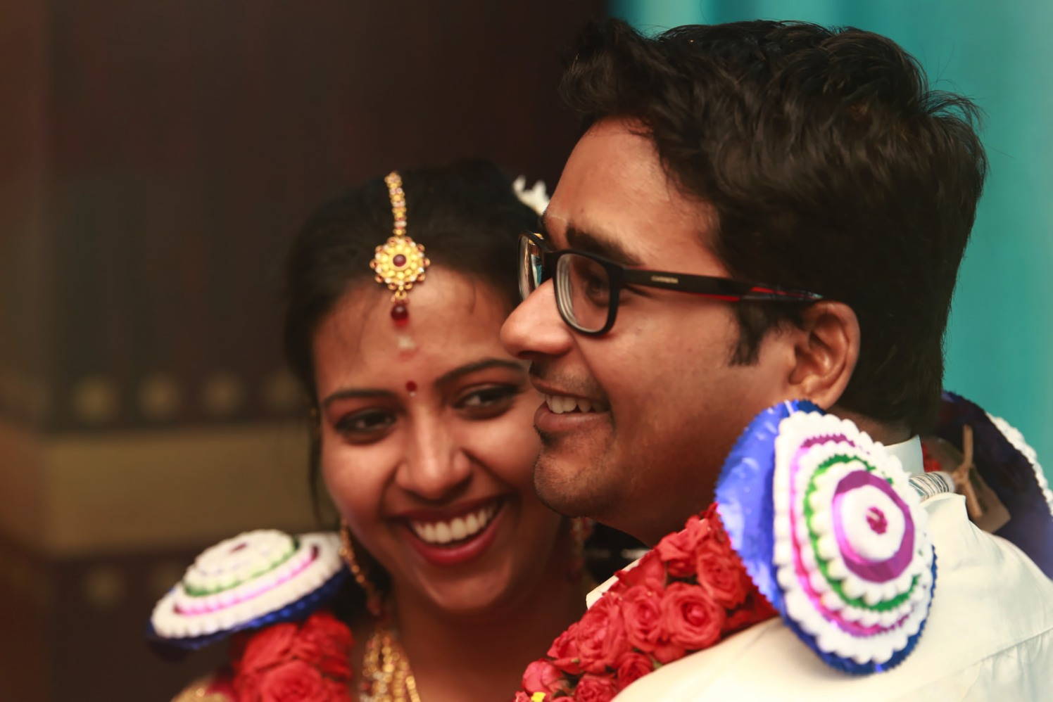 A happy groom and bride oh their wedding day! by Vinod VV Photography Wedding-photography | Weddings Photos & Ideas