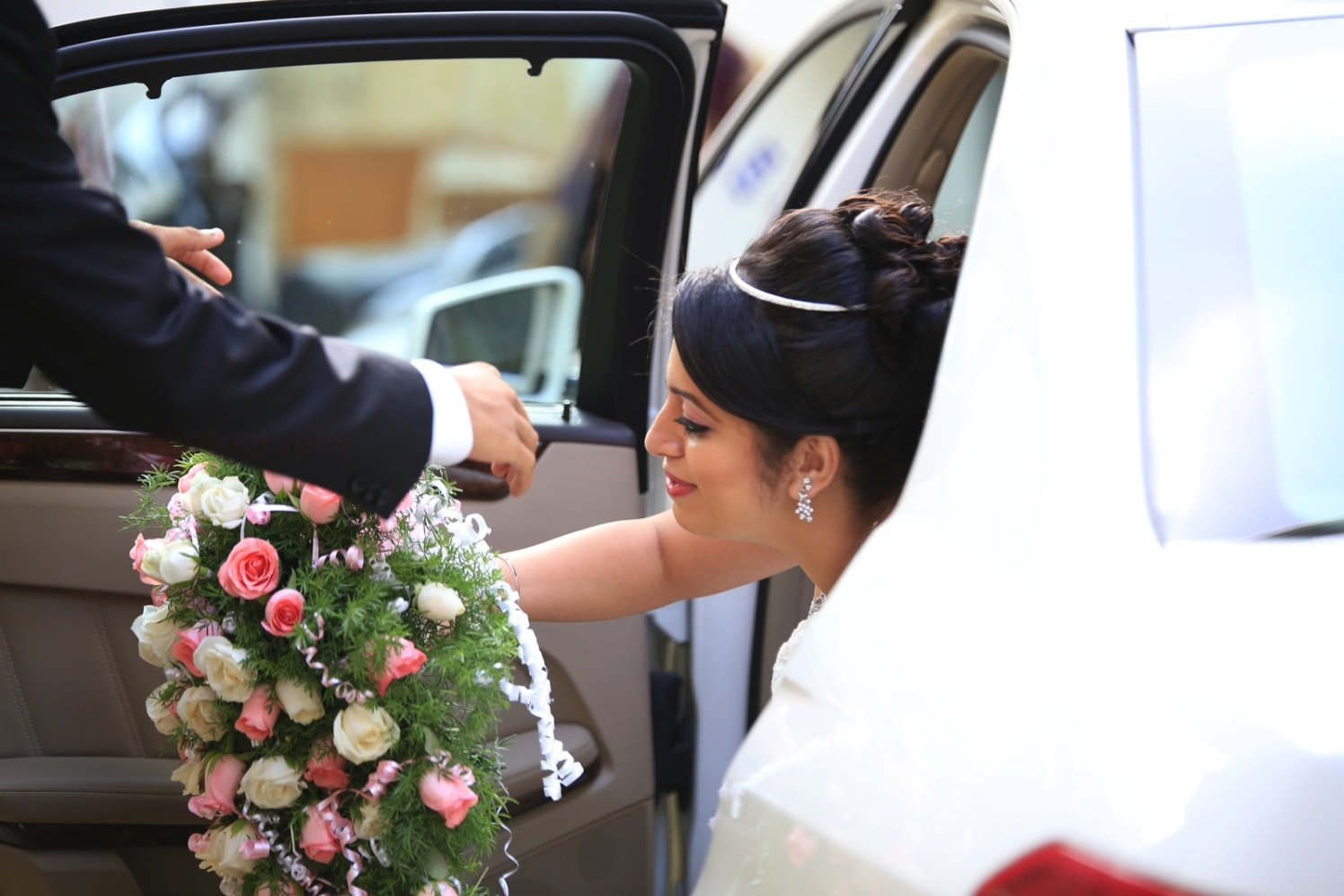 A candid moment when a bride is stepping into her new life! by Vinod VV Photography Wedding-photography | Weddings Photos & Ideas