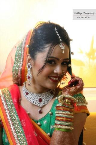 A stunning bride wearing diamond set! by Krish Photography Wedding-photography | Weddings Photos & Ideas
