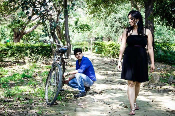 Pre-wedding shoot in the park! by Krish Photography Wedding-photography | Weddings Photos & Ideas