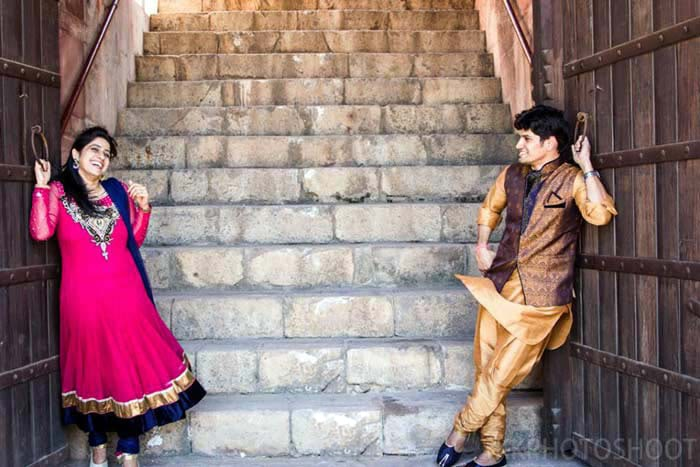 A happy couple! by Krish Photography Wedding-photography   Weddings Photos & Ideas