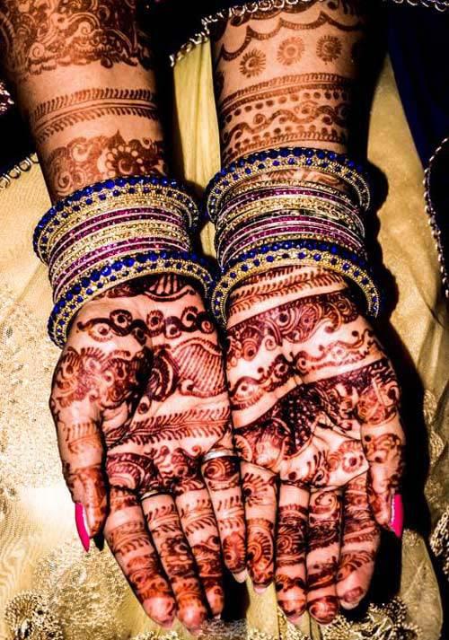 beautiful henna design for bride! by Krish Photography Wedding-photography | Weddings Photos & Ideas