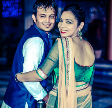 A regal couple on sangeet day! by Krish Photography Wedding-photography | Weddings Photos & Ideas