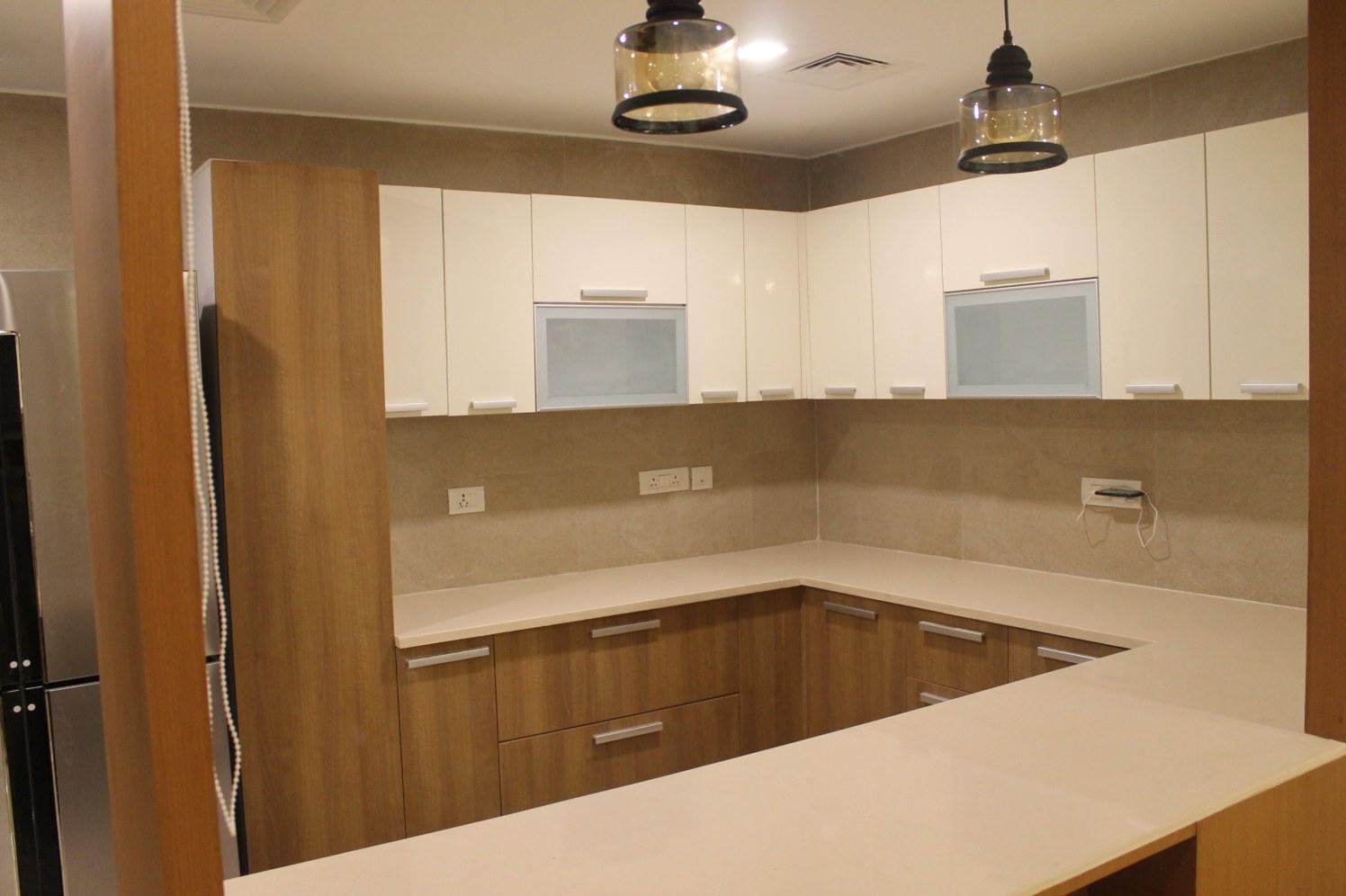 Modular U shaped kitchen by coalitiondesigns Modular-kitchen Modern | Interior Design Photos & Ideas