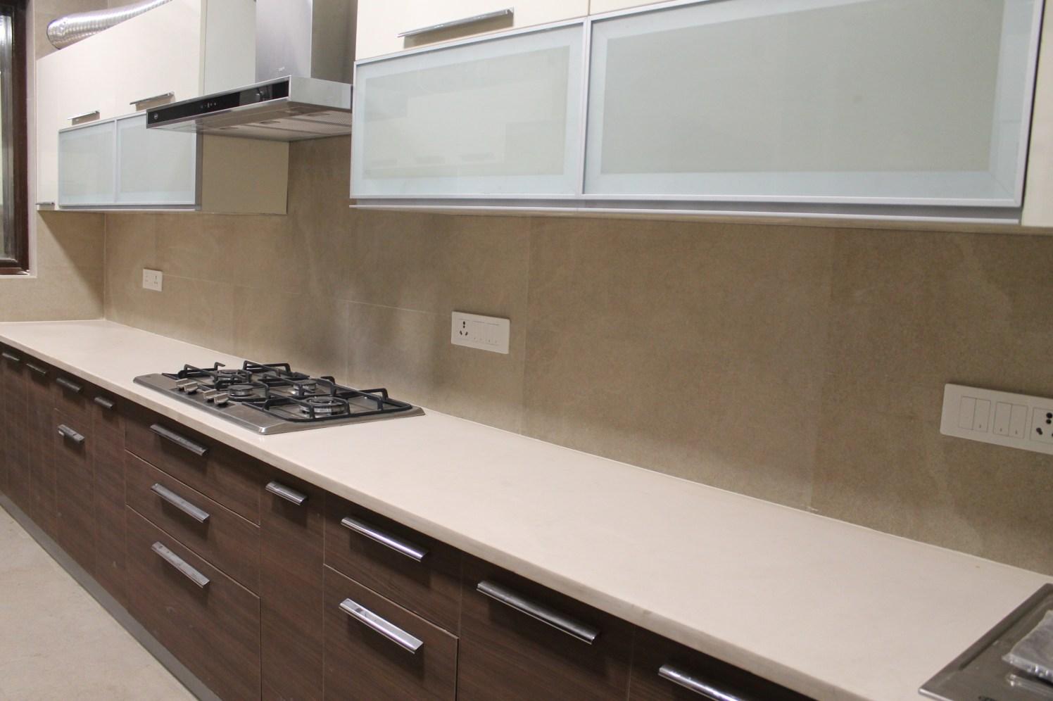 Modern modular U shaped kitchen by coalitiondesigns Modular-kitchen Modern | Interior Design Photos & Ideas