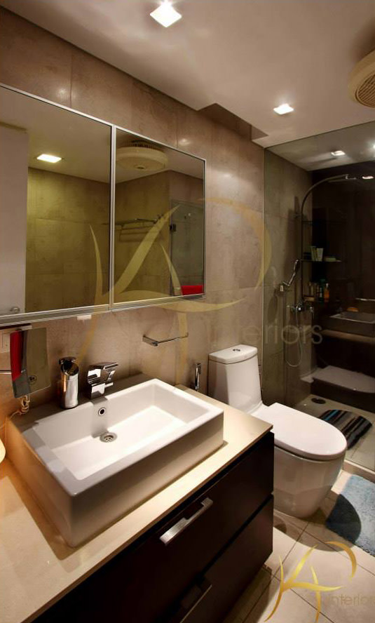 Modern Bathroom by KP Interior Bathroom Contemporary | Interior Design Photos & Ideas
