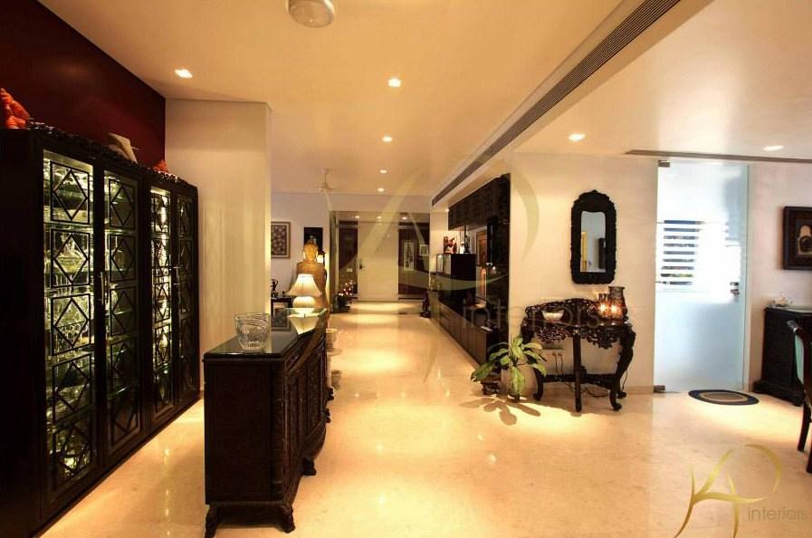 Modern Hallway With Glowing Lamps by KP Interior Indoor-spaces Contemporary | Interior Design Photos & Ideas