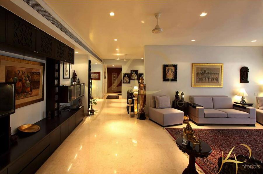 Peaceful  Living Room by KP Interior Living-room Contemporary | Interior Design Photos & Ideas