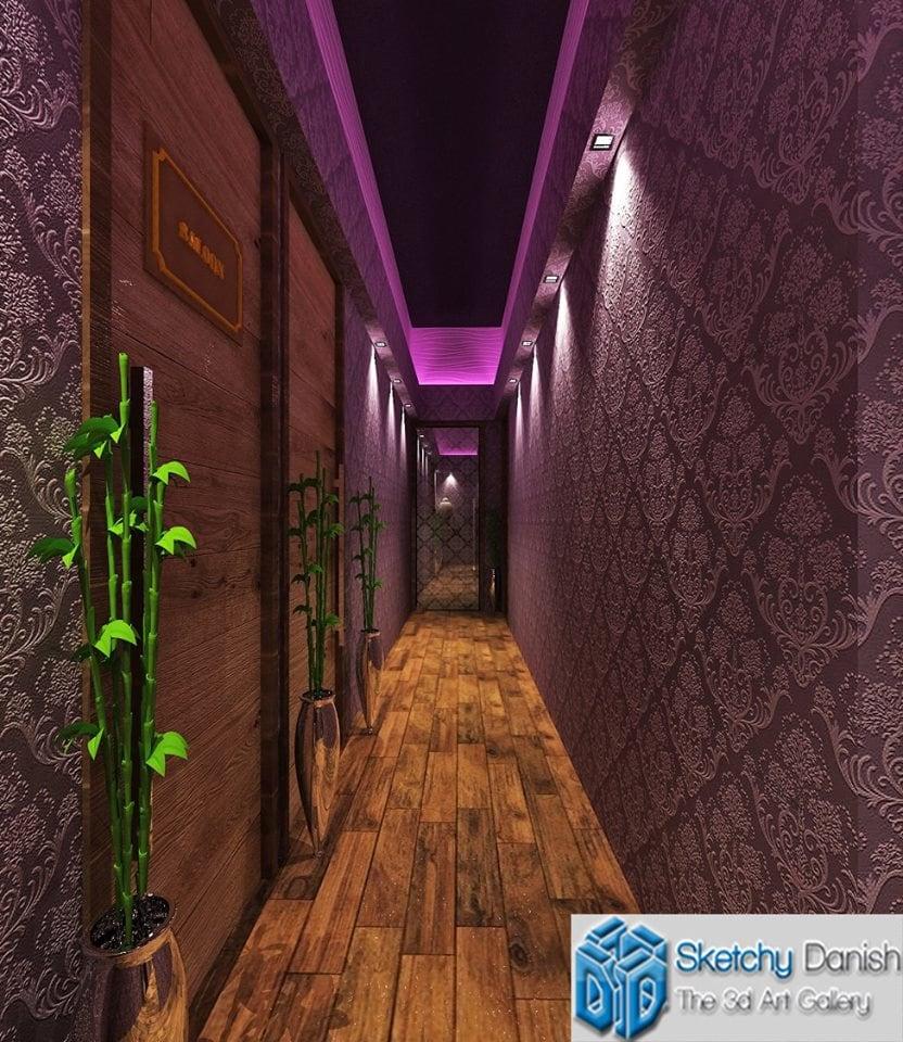 Contemporary wooden hallway by Sketchy Danish Indoor-spaces Contemporary | Interior Design Photos & Ideas