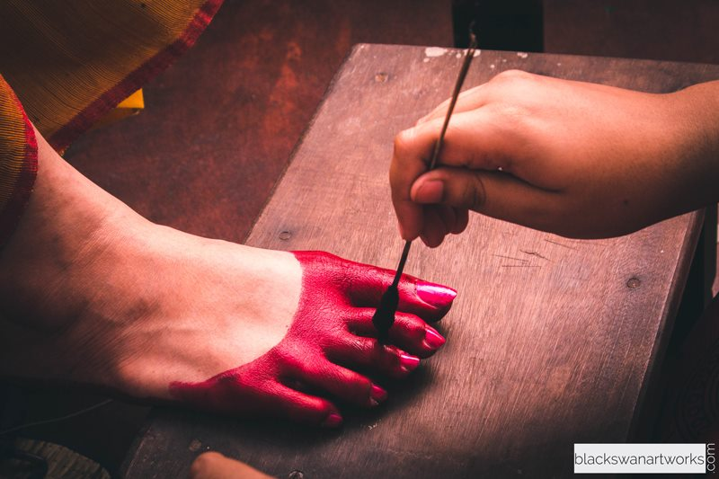 Alta Dye Tinted Feet by Parikshit Ghosh Wedding-photography | Weddings Photos & Ideas
