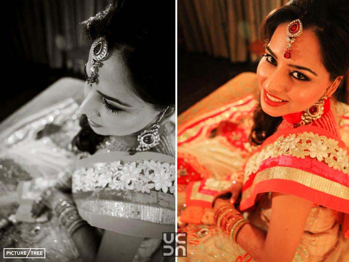 Beauty is Beauty in both black and colour by PictureTree Wedding-photography | Weddings Photos & Ideas