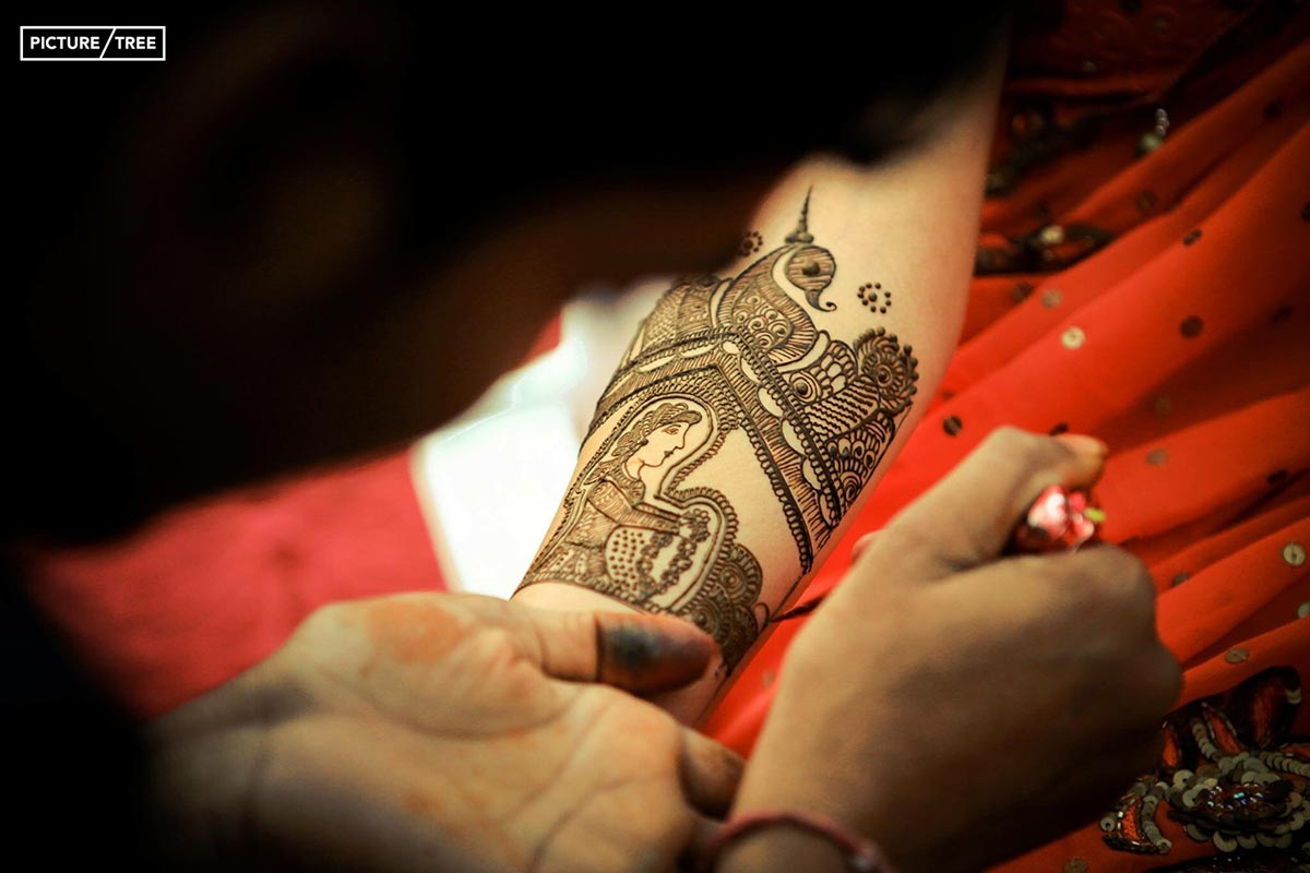 Creative henna designs looking splendid by PictureTree Wedding-photography | Weddings Photos & Ideas