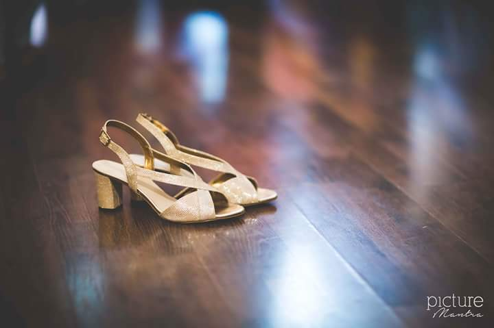 The brides lovely golden heels by PictureTree Wedding-photography | Weddings Photos & Ideas