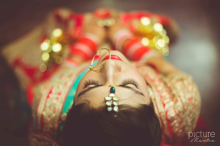 The bride looking beautiful with her elegant accessories by PictureTree Wedding-photography | Weddings Photos & Ideas