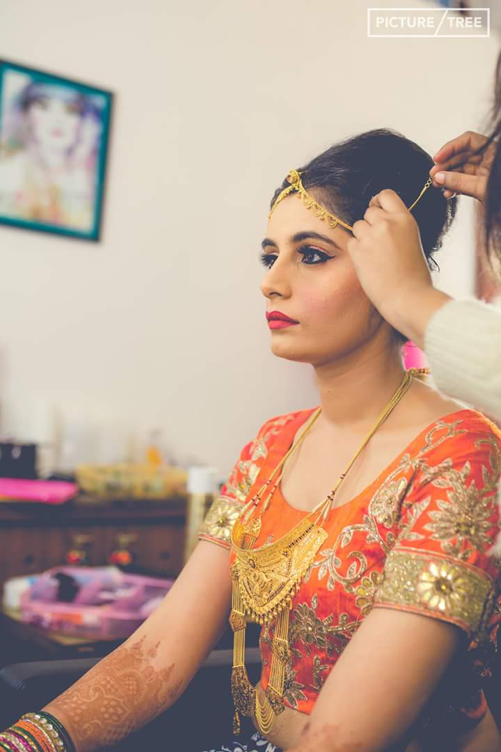 The bride looking absolutely magnificent by PictureTree Wedding-photography | Weddings Photos & Ideas
