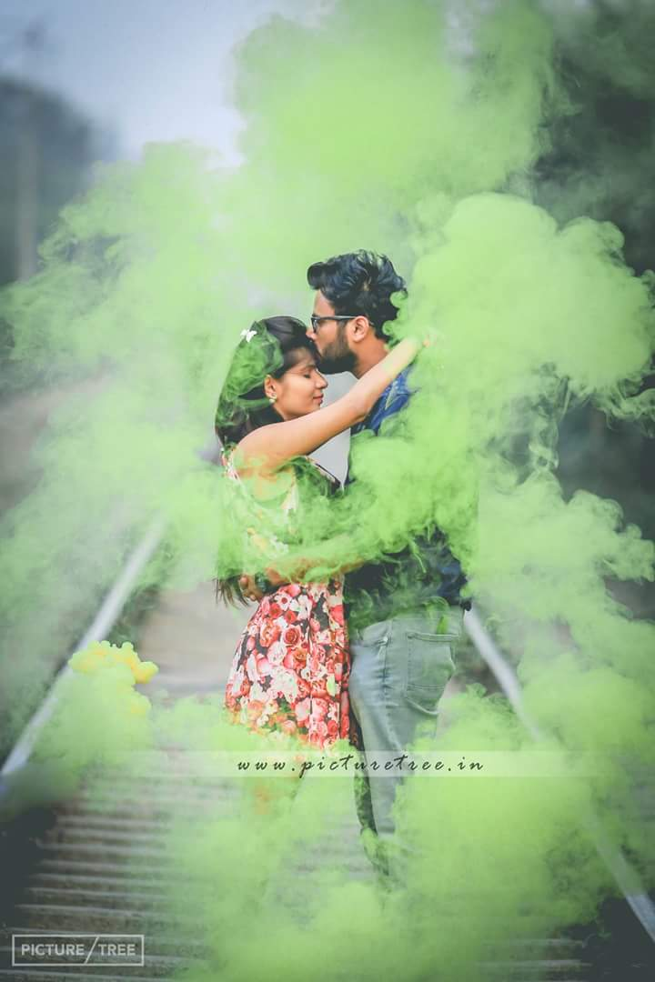 Appearing from beneath the smoke by PictureTree Wedding-photography | Weddings Photos & Ideas