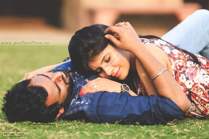 Couple romancing in each others arms by PictureTree Wedding-photography | Weddings Photos & Ideas